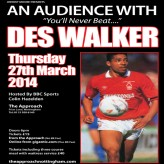 An Audience with Des Walker