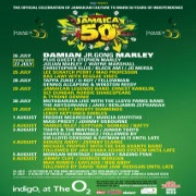 Jamaica 50 Tickets image